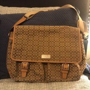 Monogram Coach Laptop Bag